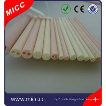 high temperature high al2o3 wire insulators ceramic bifilar isolators manufacturer