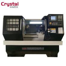 nueva tecnología cnc metal torno máquina herramientas fabricación cama CK6150T