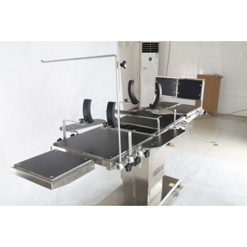 Bedah Ophthalmology Adjustable ATAU Meja Operasi