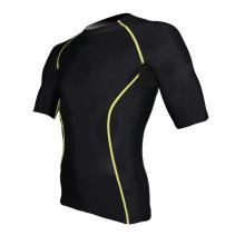 Camisa de manga comprida personalizada com compressão (ARC-044)