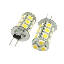 Agua y madera Blanco 18 5050 SMD LED G4 bombilla de la lámpara de la luz de la bóveda para el coche Auto con el paño de limpieza del coche
