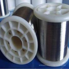 0.13mm 410 430 alambre del estropajo del acero inoxidable