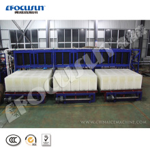 Low price 15 tons direct refrigeration block ice machine with popular