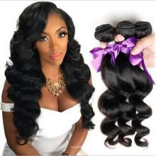HE005 Перуанский Девы волос объемной волны 3 пучки человеческих волос weave 7а класс необработанные девственные волосы Перуанский объемная волна пучки