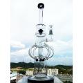 Bend Neck Rauchen Rohr Hbking Recycler Glas Wasser Rohr Inliner Diffusor Rauchen Wasser Rohr Freies Verschiffen