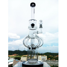 Top Selling 18inch Newest Design Castle Shape Precolator Glass Smoking Water Pipe