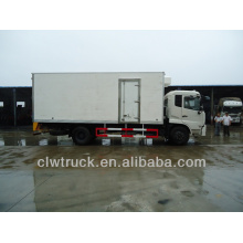 Hot Sale Dongfeng refrigerated trucks for sale, 4x2 truck refrigeration