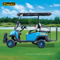 Carro elétrico Excar 4 Seater Golf Golf Trojan bateria carrinho de buggy de golfe elétrico