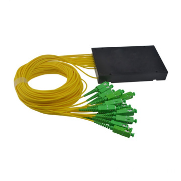 1x16 Splitter in fibra di scatola ABS per PLC