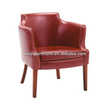 Fire Resistant Leather Arm Chairs In Red XY2636