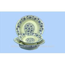 NUEVO tazón de cerámica de lignito de oro con estilo clásico de China para BS-H0014