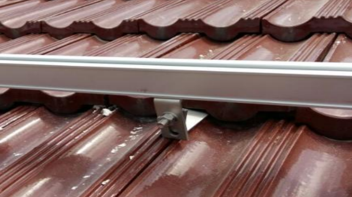 Tile Roof Solar System install