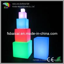 Акриловый куб со светом