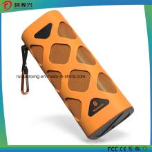 Altifalante Bluetooth Portátil com Microfone Incorporado (laranja)