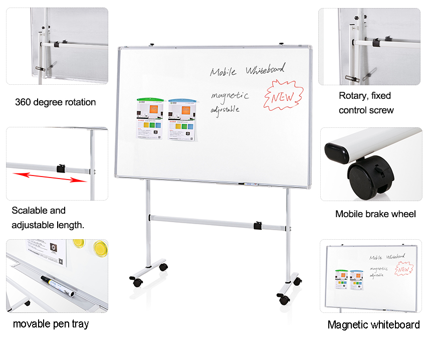 Adjustable Mobile Whiteboard