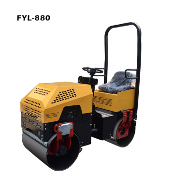 Brazil Hot Selling 1000kg Small Tandem Vibrating Roller
