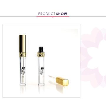 Luxury cosmetic packaging small round clear eyebrow cream plastic cream jar form shantou