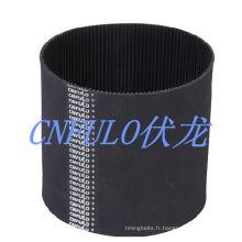 Courroie de distribution industrielle en caoutchouc néoprène, ceinture de puissance de Transmission/Desheng/imprimante, 1150h