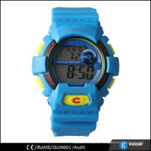 plastic digital new watch men, custom wrist watch