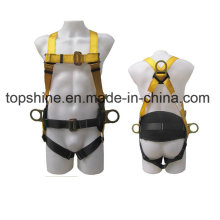 Adjustable Industrial Working Polyester Professional Full-Body Safety Harness Belt
