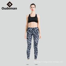 Haute performance bonne couture active porter des leggings de yoga en stock
