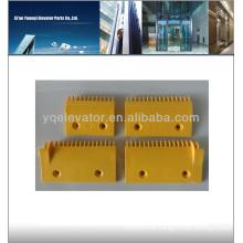 Escalator Comb Plate, Plastic Comb Plate, yellow Comb Plate