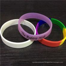 2016 Cute Colorful Customized Silicone Bracelets