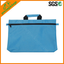 bolsa impermeable no tejida para documentos con cremallera