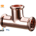 Copper Press Fittings T-Coupling 28