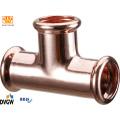 Encaixe da imprensa (M001) de cobre tubulação de cobre para água e gás