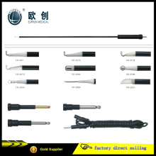 Wiederverwendbare monopolare Koagulation L-Haken Ligator Spatel Nadelelektrode 5mm