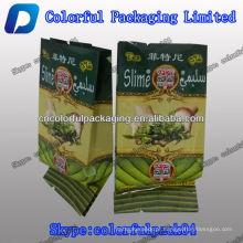 QUENTE! Saco de embalagem de chá verde de limo com reforço lateral