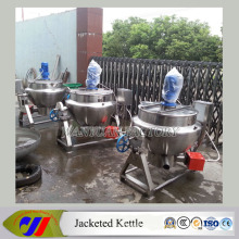 Stainless Steel Gas Heating Soup Boiler Jacketed Cooking Kettle