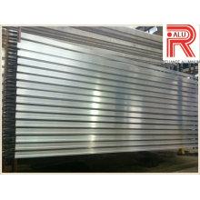 Perfiles de aluminio / aleación de aluminio para ventanas y muros cortina (RAL-593)