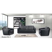 Sofá de recepción seccional de cuero moderno de los muebles de oficina (FB-3)