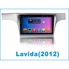 Android System Car DVD Player Monitor para Lavida con la navegación GPS del coche