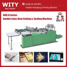 Corte de calor lado sello bolsa que hace la máquina