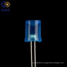 Diodos LED difusos azules cóncavos bajos de fábrica 8m m para la lámpara germicida
