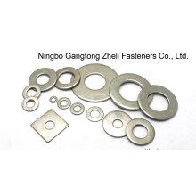 Arruelas planas redondas DIN125 de aço inoxidável para a indústria