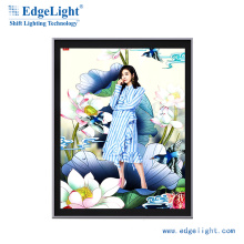 EdgeLight Silm Advertising Aluminum Frame Led Light Box AF9A