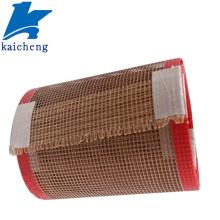 Pano de malha aberta de fibra de vidro revestido com PTFE de 4 * 4 mm