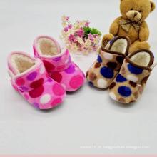 0-12 meses Sapatas de bebê da menina Sapatas de bebê Carregadores do bebê do inverno (kx715 10)