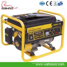 Горячая Распродажа Стиль Европа бензиновый генератор, се, генератор с автозапуском контроля (WH2600)