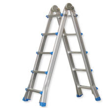EN131 Échelle polyvalente multi-positions télescopique en aluminium de 17 pieds réglable
