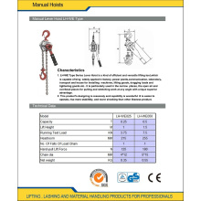 Stainless Steel Chain Lever Hoists