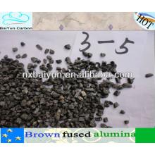 min 95% arena de alúmina fundida marrón para refractario