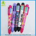 2015 good quality promotional 6 color changing pen
