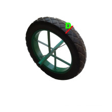 """Solid Rubber Wheel with Heavy Weight Size (15 X3"""")"""