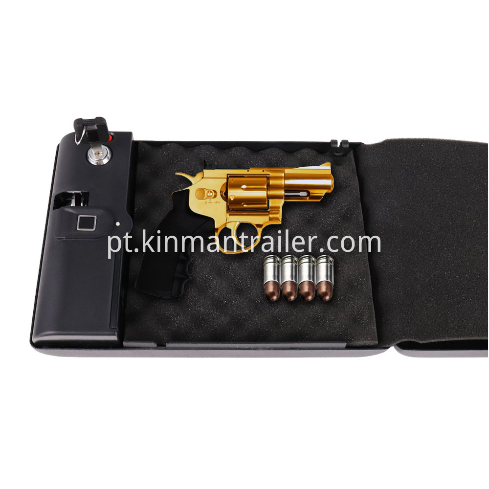 gun safe pistol fingerprint