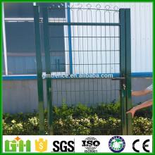 Haute qualité Vente chaude PVC Coated Chain Link Fence Gates
